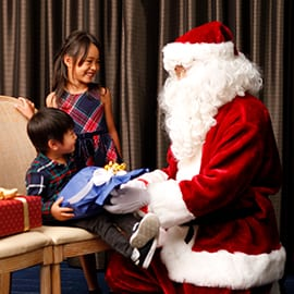 Precious Holiday Moments at Hotel New Otani