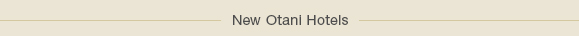 New Otani Hotels