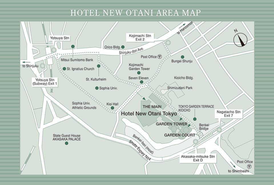 Access | Hotel New Otani Tokyo