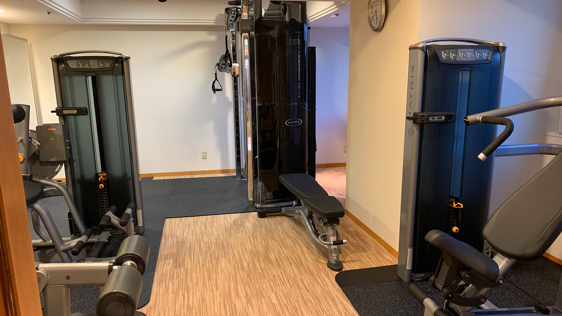 Workout Room Services Amp Facilities Hotel New Otani Tokyo