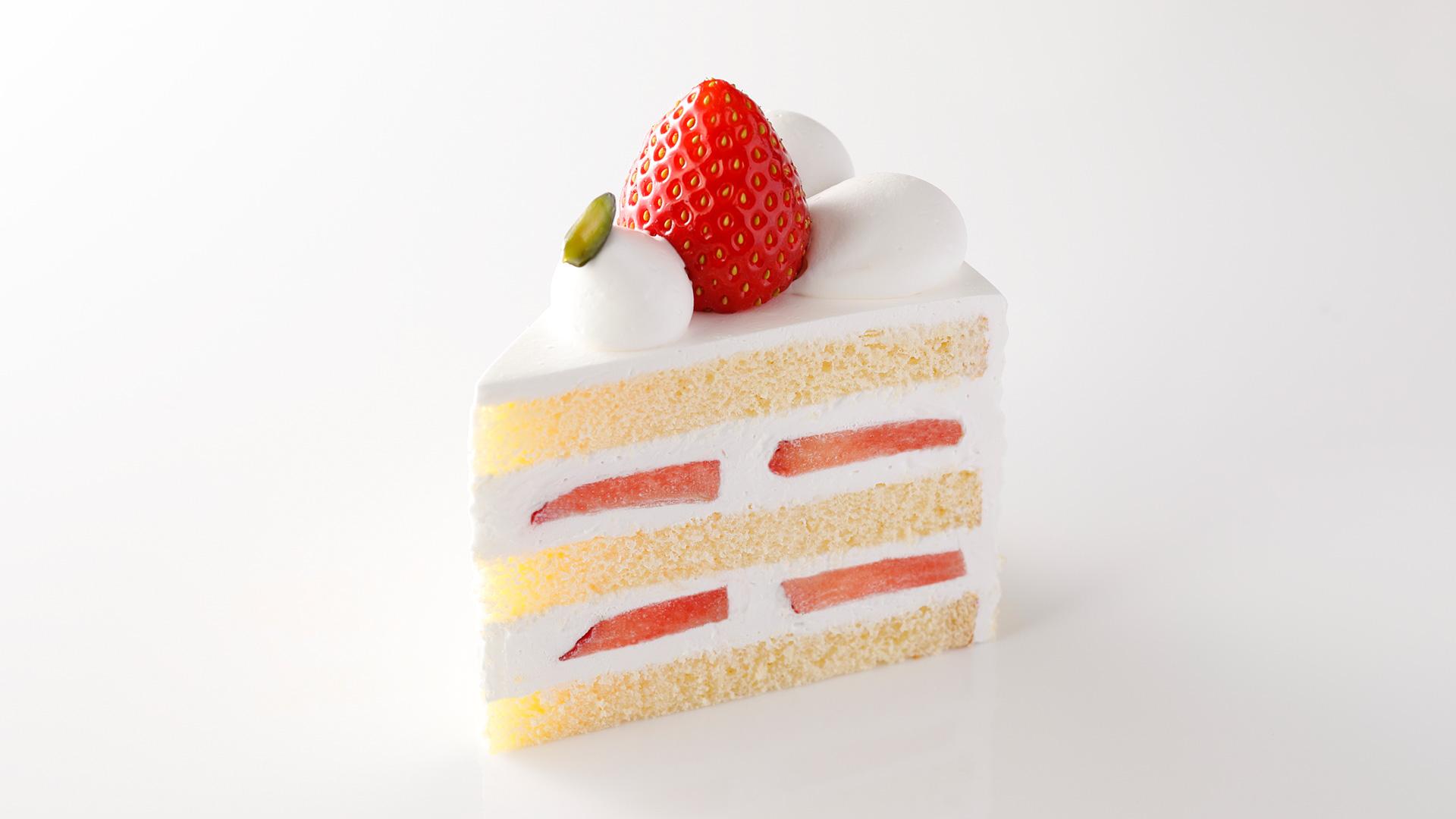 ケーキ は ショート と