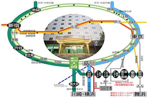 ホテル ニューオータニ 東京 アクセス